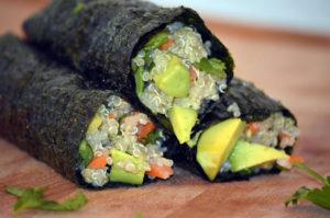 kharma seaweed rolls